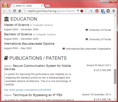 Education and Publications